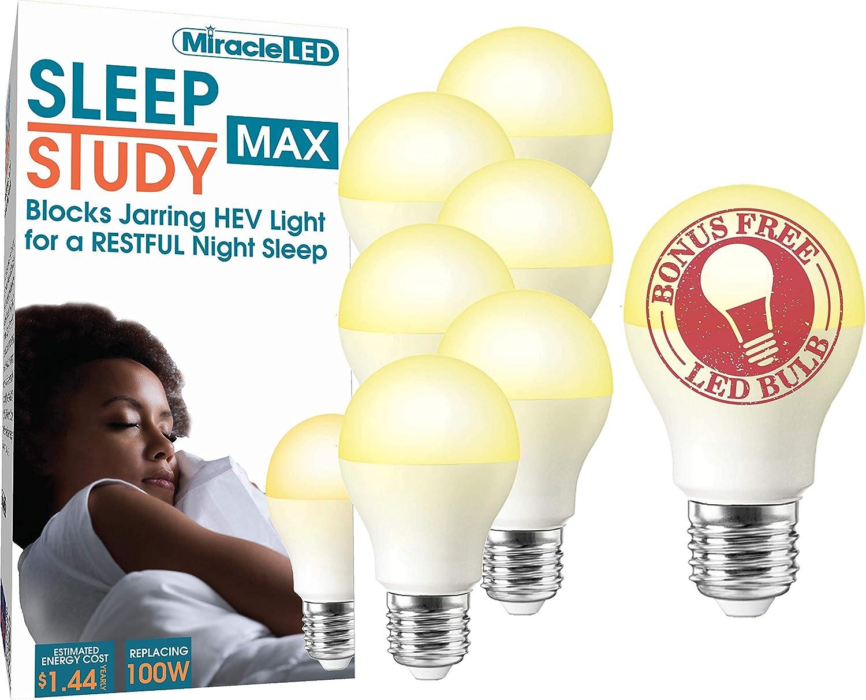 Miracle LED Sleep Product Study MAX Blue to Bulb Popular popular Blocking Unwi Light Aid
