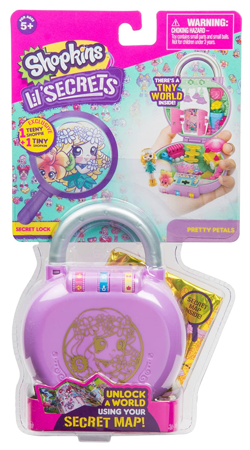 2f0164eca7d Amazon.com  Shopkins Lil  Secrets Secret Lock - Pretty Petals Flower Shop   Toys   Games
