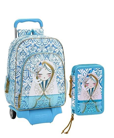 Kimmidoll - Mochila Infantil Azul Celeste