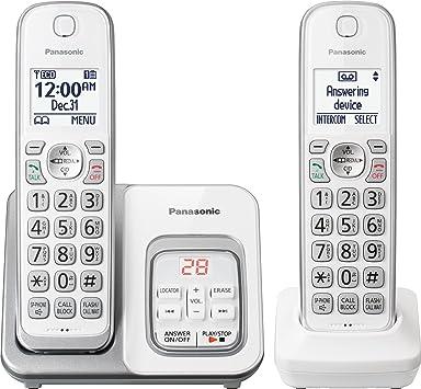 2HS teléfono inalámbrico. itad- blanco: Amazon.es: Electrónica