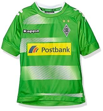 Kappa BMG – Camiseta de fútbol Away 2016/2017 Borussia Mönchengladbach, Infantil, Trikot