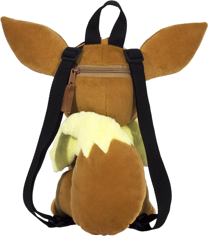 Pok/émon Eevee Plush 15 inch Backpack Brown