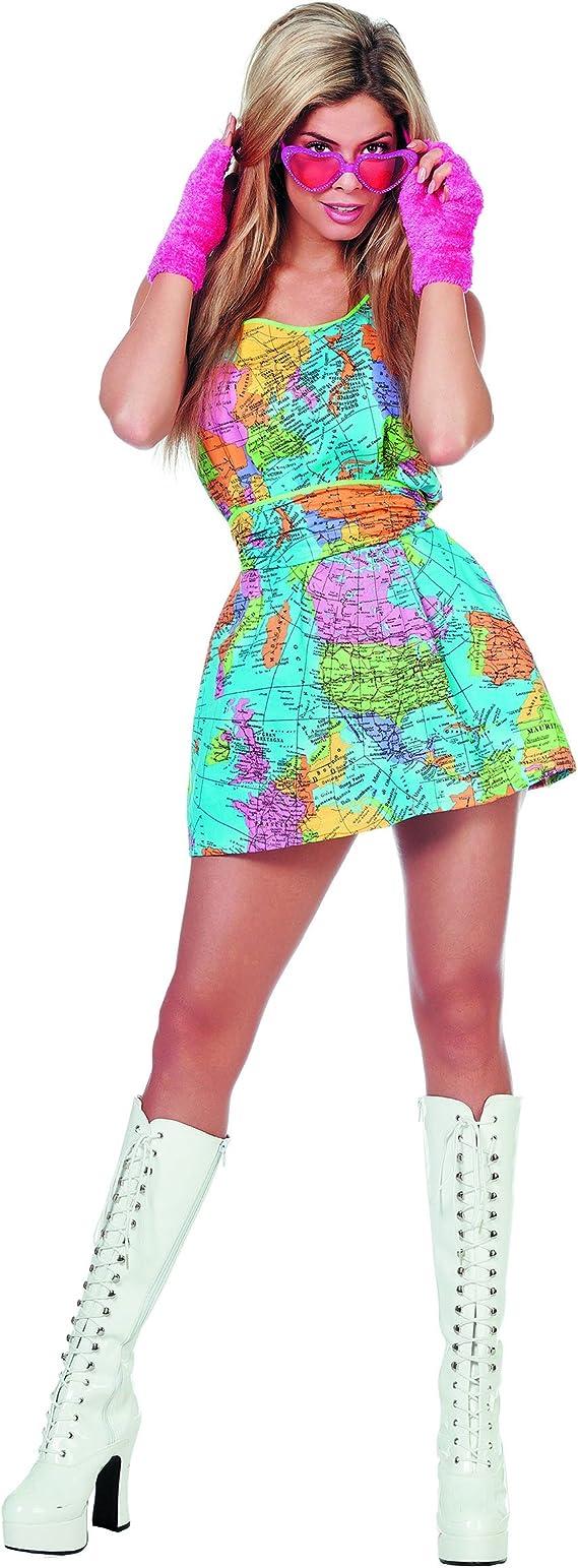 Disfraz de mundo mujer XS: Amazon.es: Juguetes y juegos