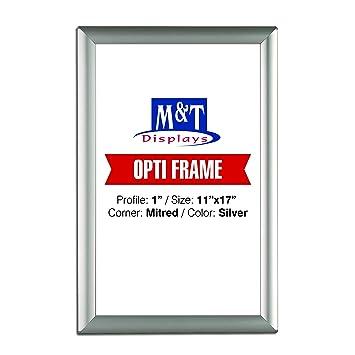 Amazoncom 11 X 17 Poster Frame 1 Profile Mitered Corner