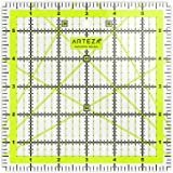 ARTEZA Quilting Ruler, Laser Cut Acrylic Quilters' Ruler with Patented Double Colored Grid Lines for Easy Precision…