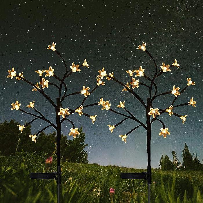 Top 10 Garden Solar Flower White