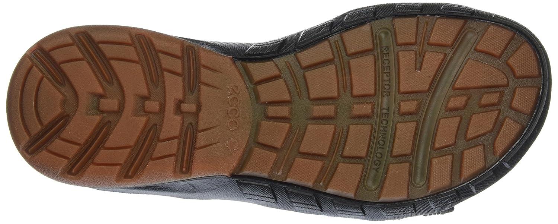 Ecco 841704, Sandalias Hombre, Negro (12001black), 42 EU: Amazon.es: Zapatos y complementos