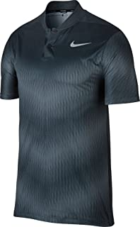 50772bd9 Amazon.com : Nike Golf Men's 2017 TW Mobility Majors Polo, Midnight ...