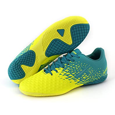 20d8b0792 Vector X Football Shoes Flat Indoor Court Astro Turf Futsal Training Shoes  (UK02 US03