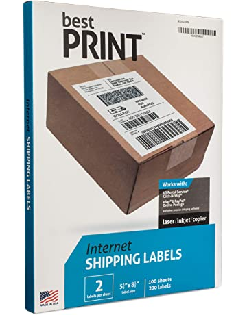 b90fecd233ea Amazon.com: Shipping & Handling Labels - Packaging Labels & Tags ...