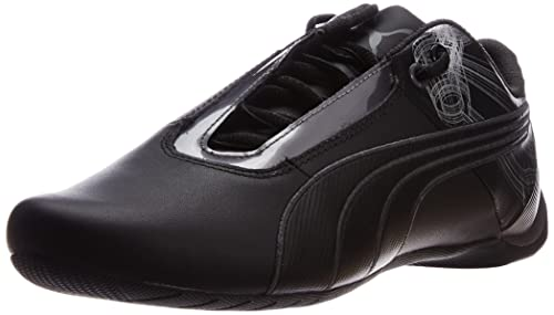 d7af5d3cb360 Puma Men s Future Cat S1 Atomisity Black-Black Leather Running Shoes -  13UK India
