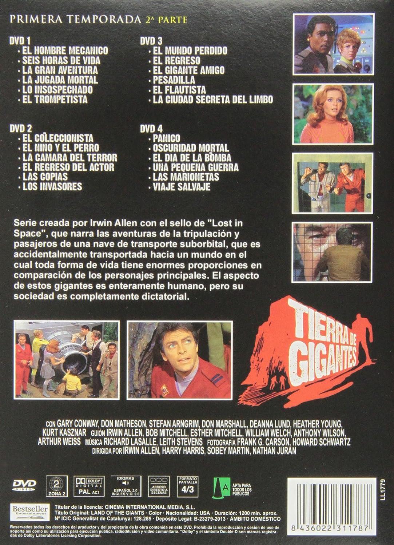 Amazon.com: Land Of The Giants - Tierra De Gigantes - Primera Temporada, 2ª Parte.: D Gary Conway: Movies & TV