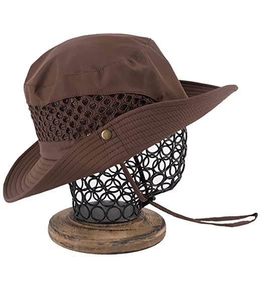 427177e87d7 Amazon.com  EUPHIE YING Women Men Outdoor Cotton UPF 50+ Summer Sun Caps  with Neck Cord  Clothing