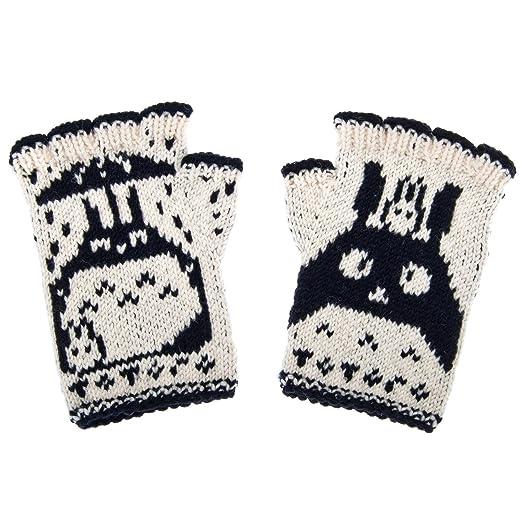 Amazon.com: Guantes largos sin dedos guantes calentadores de ...