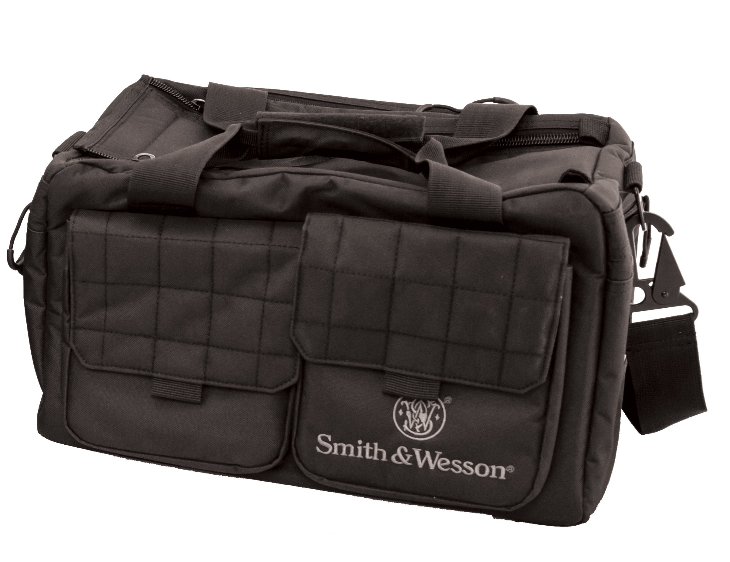 Smith & Wesson M&P Recruit Tactical Range Bag with Weather Resistant Material for Shooting, Range, Storage and Transport by SMITH & WESSON
