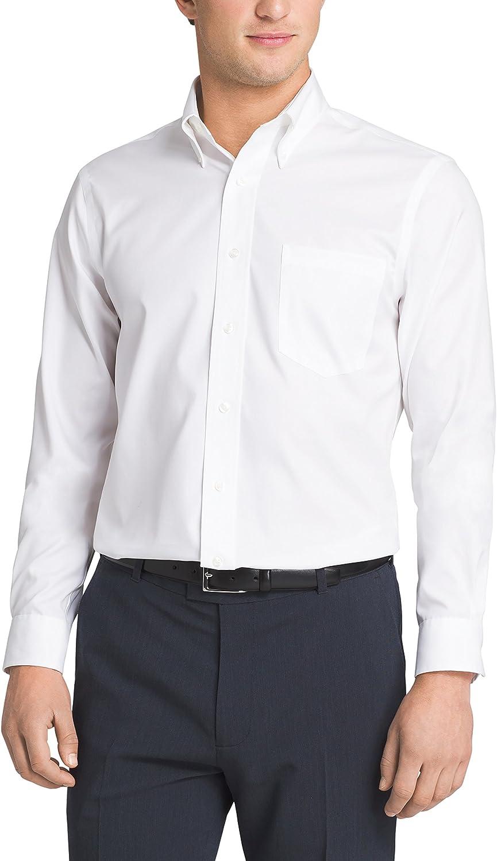 Eagle Mens Dress Shirt Slim Fit Non Iron Solid