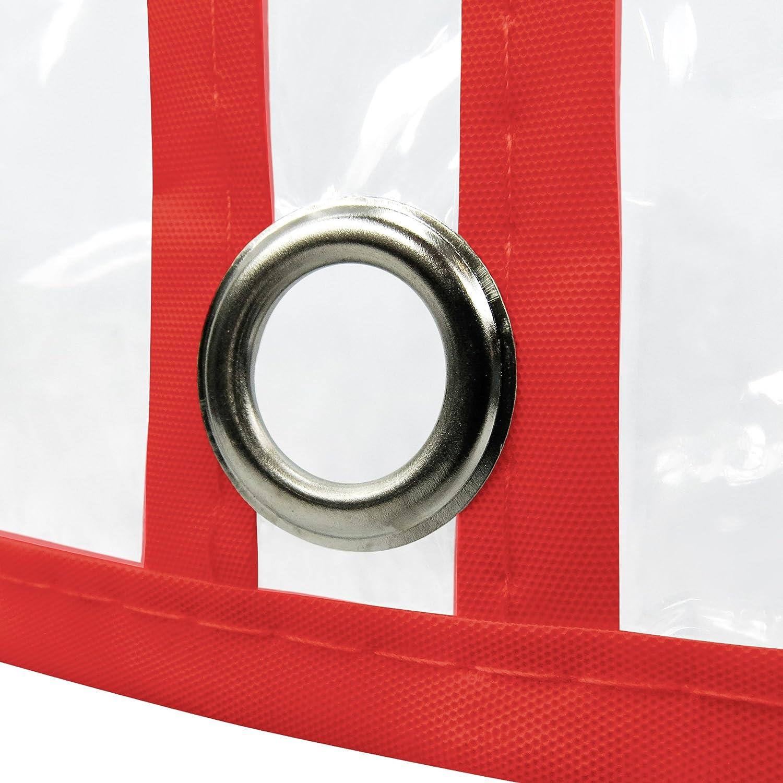 Hangerworld Lot de 6 housses de protection transparentes zipp/ées pour costumes//manteaux