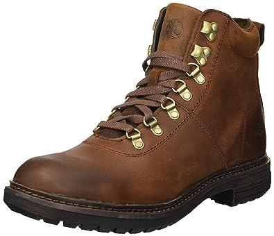 1ac2967dc46d Timberland Men s Logan Bay Alpine Hiker Ankle Boot Brown 7 Medium US