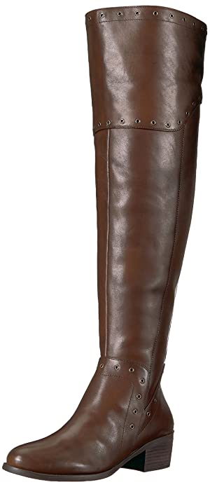 ab5daf3df41f Vince Camuto Women s BESTAN Over The Over The Knee Boot Carob Wide Calf 5  Medium US
