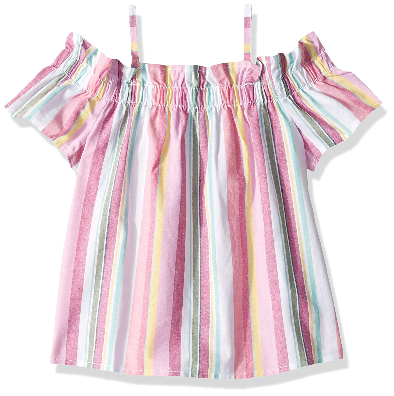Oxford Multi Pink S7 Nautica Girls Little Girls Girls' Fashion