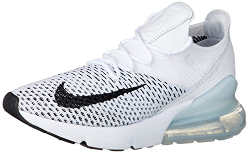 3c408f001d9e NIKE Air Max 270 Flyknit Women s Shoes White Black ah6803-100 (5.5 B