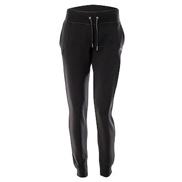 FREDDY - Pantalon de sport - Femme noir noir Small  MainApps  Amazon ... fb35f9c1d87