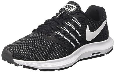 competitive price f83a6 0c982 Nike WMNS Run Swift, Chaussures de Trail Femme, Noir (Black White