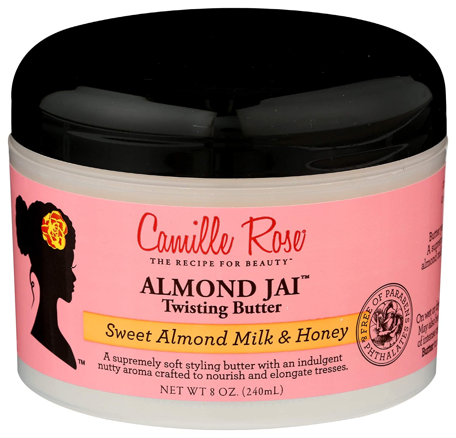Camille Rose Almond Jai Twisting Butter, 8 fl oz : Standard Hair Conditioners : Beauty