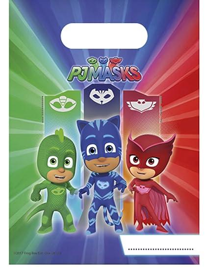 6 Bolsas regalo PJ Masks