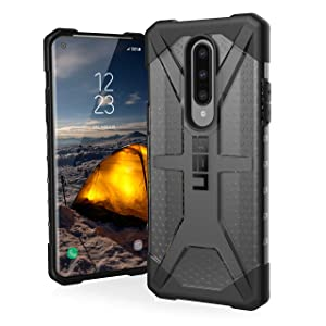 URBAN ARMOR GEAR UAG Designed for OnePlus 8 Case [6.55-inch Screen] Plasma [Ash] Rugged Translucent Ultra-Thin Military Drop Tested Protective Cover