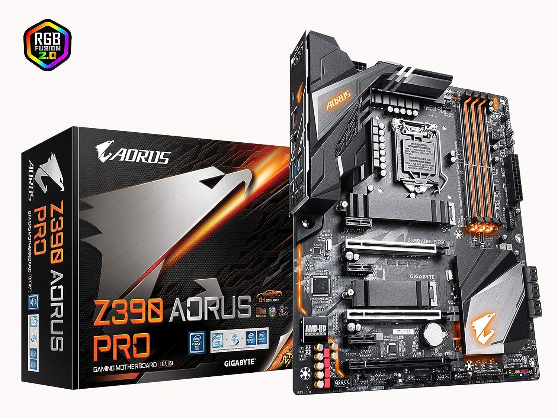 Gigabyte Z390 AORUS PRO (Intel LGA1151/Z390/ATX/2xM 2 Thermal Guard/Realtek  ALC1220/RGB Fusion/Gaming Motherboard)