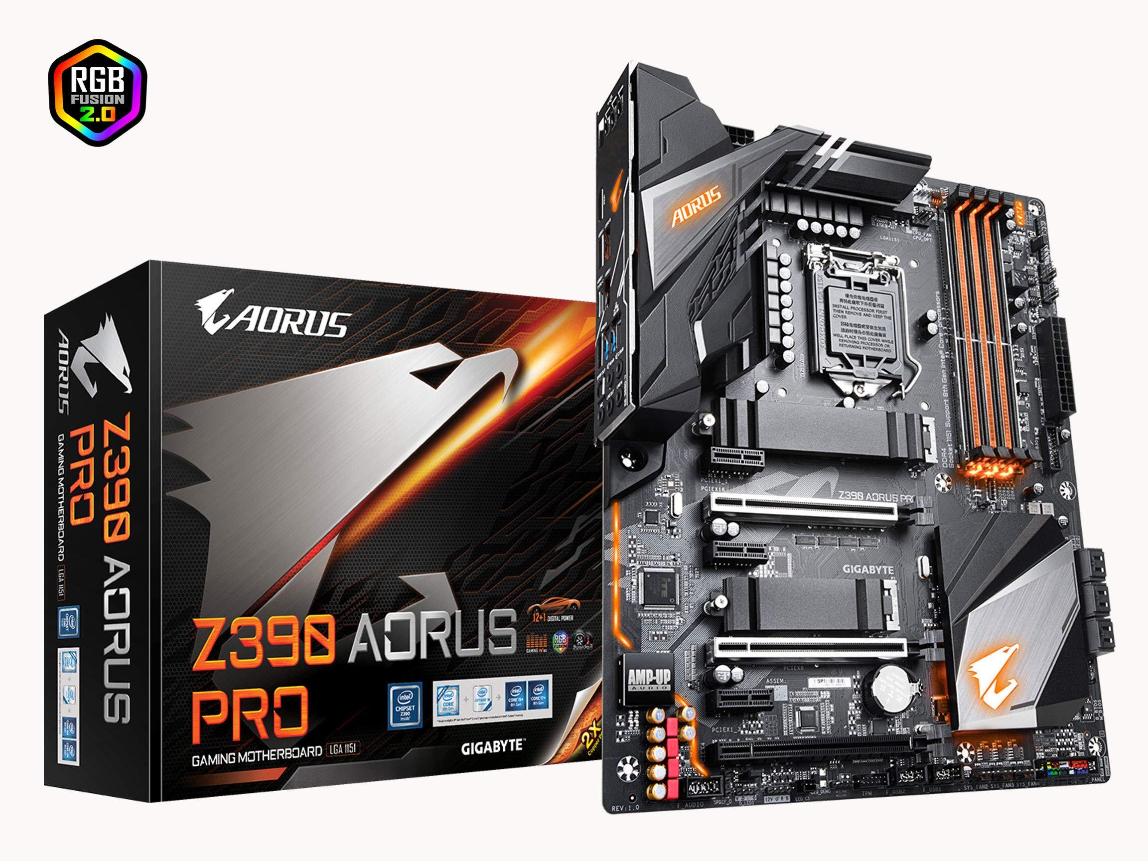 Gigabyte Z390 AORUS PRO (Intel LGA1151/Z390/ATX/2xM.2 The...