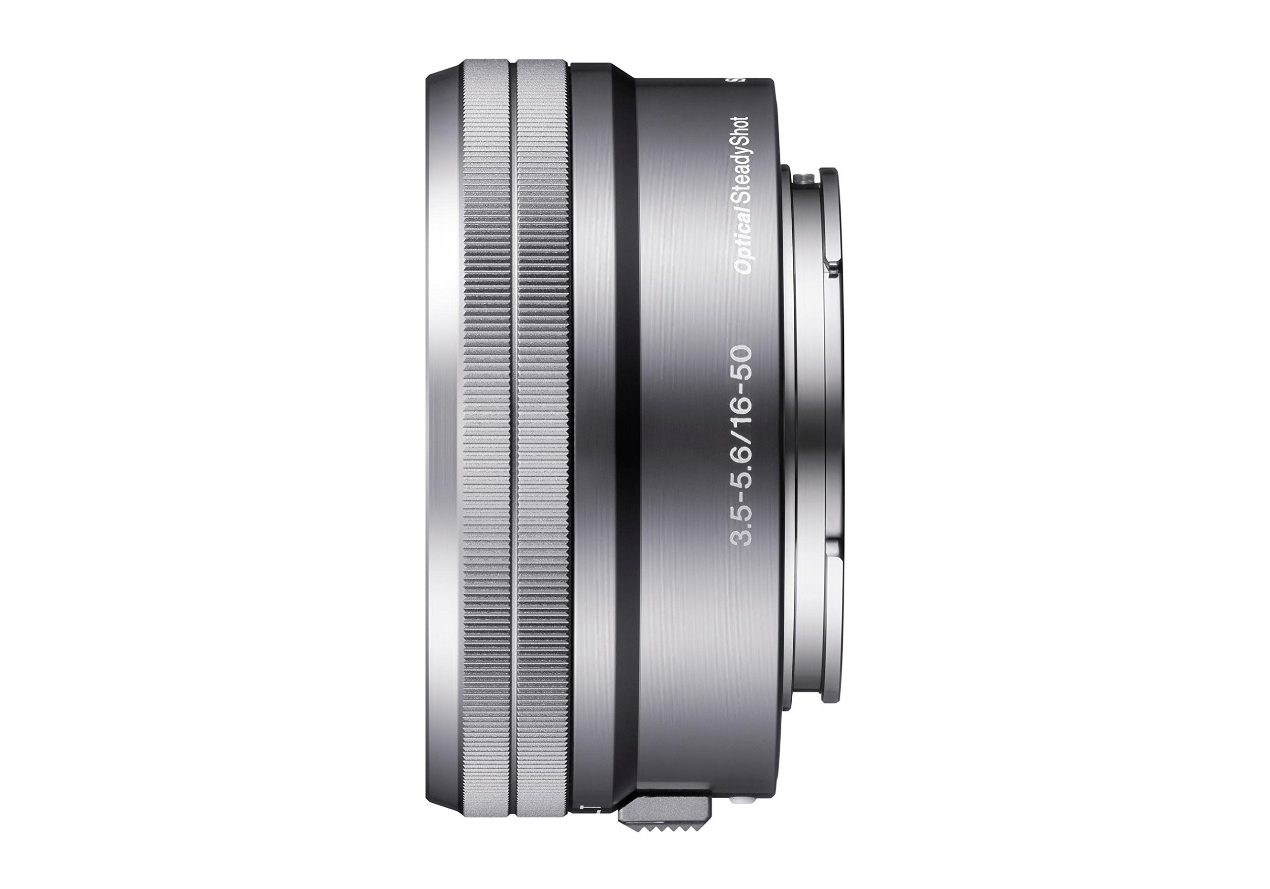 Sony SELP1650 16-50mm Power Zoom Lens (Silver, Bulk Packaging) by Sony