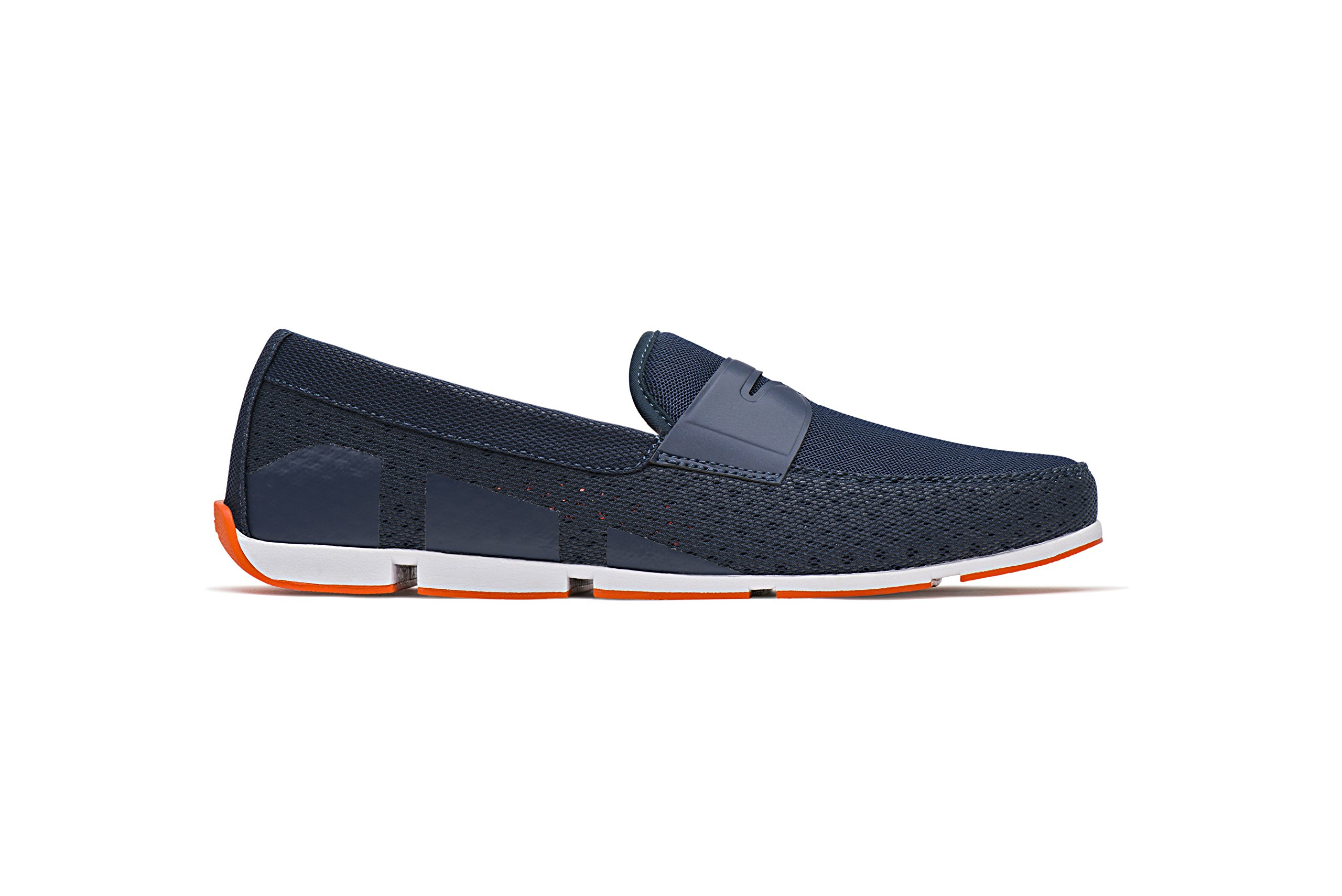 SWIMS Men's Breeze Penny Loafer For Pool and Summer, Lightweight & Flexible - Navy, 9