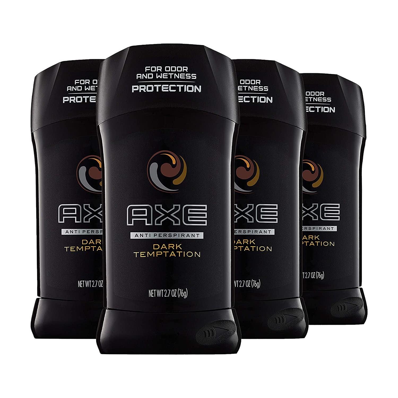 AXE Antiperspirant Deodorant Stick, Dark Temptation, 2.7 oz, 4 count : Beauty
