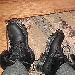 2018 buty tanie z rabatem hurtownia online Amazon.com | Dr. Martens Women's 1460 KOLBERT Snow Boot ...