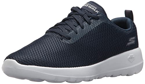Skechers Go Walk Lite-Impulse, Zapatillas para Mujer, Negro (Black/White), 37 EU