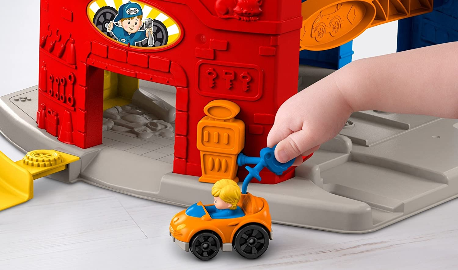 Fisher Price Little People Sit N Stand Skyway Ebay