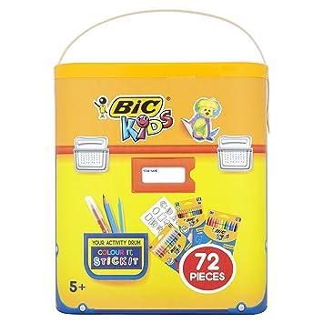 BIC 72-teiliges Malset für Kinder: Amazon.de: Bürobedarf ...