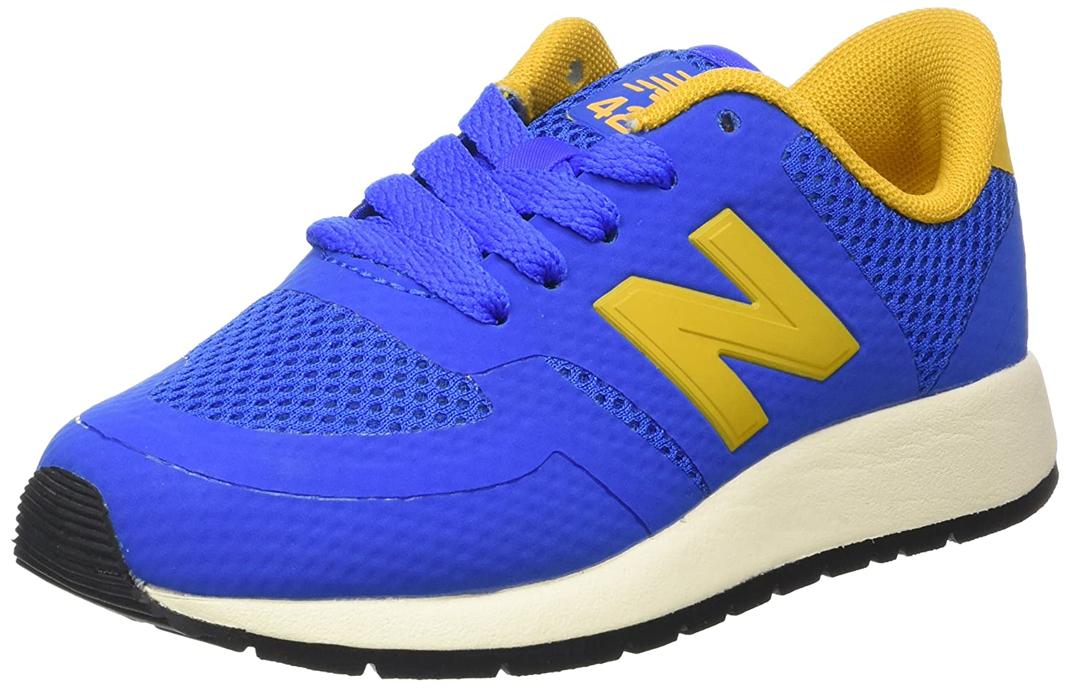 more photos 07a05 c70e8 Amazon.com   New Balance 420 Kids   Blue Yellow (KFL420EG) (5.5-Youth)    Running