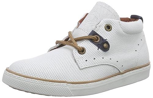 BULLBOXER AGM502E6L, Botines para Niños, Blanco, 36 EU: Amazon.es: Zapatos y complementos