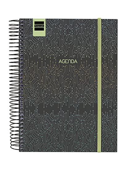 Finocam Secundaria Tech - Agenda 2019-2020 1 Día Página, 4º (155x212mm), Multicolor