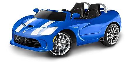 Amazon Com Kid Trax Dodge Viper Srt 12v Battery Powered Ride On Toy