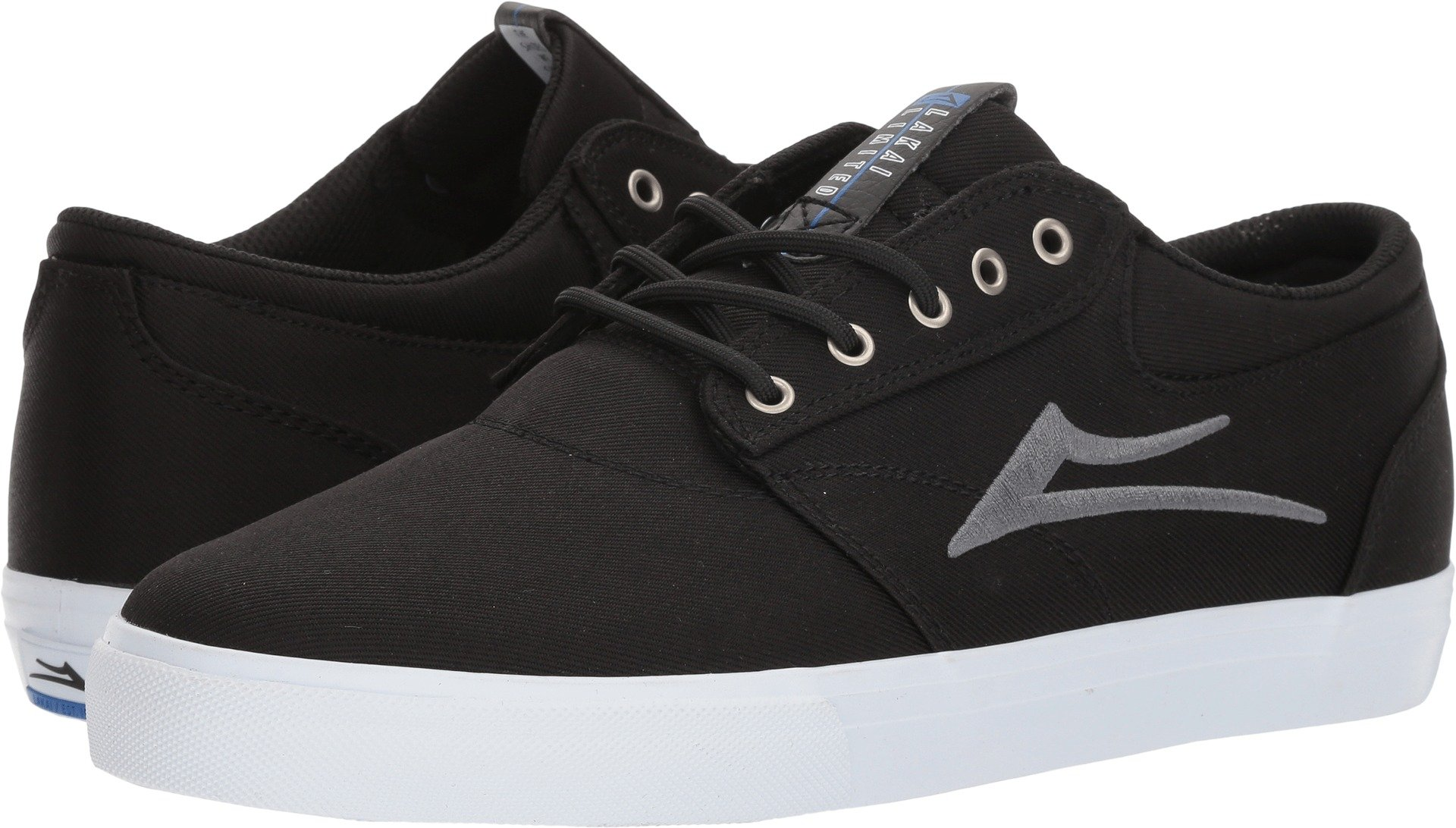 Lakai Limited Footwear Mens Griffin, Black Textile, 12 Medium US