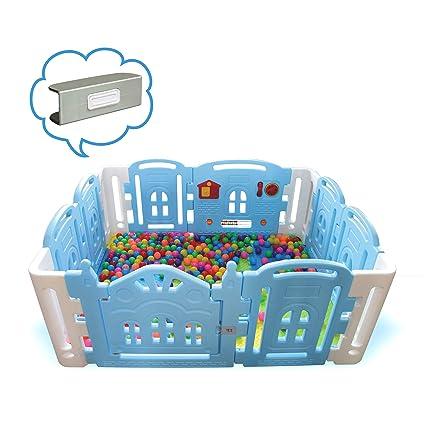3d4a149a55a Centro de actividades para bebés y niños con 12 paneles de juego de  seguridad para interior