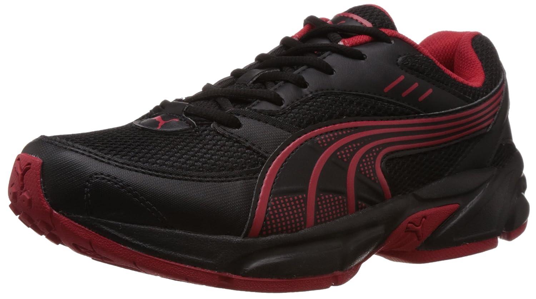 Pumas Chaussures De Course Noir Et Rouge B47vRn