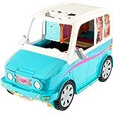 Barbie DLY33 Die große Hundesuche Hunde Mobil Fahrzeug, Mehrfarbig