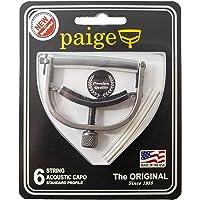 Paige™ Original Capo P-6N - Electric Guitar - 6-String - Finish: Satin Nickel