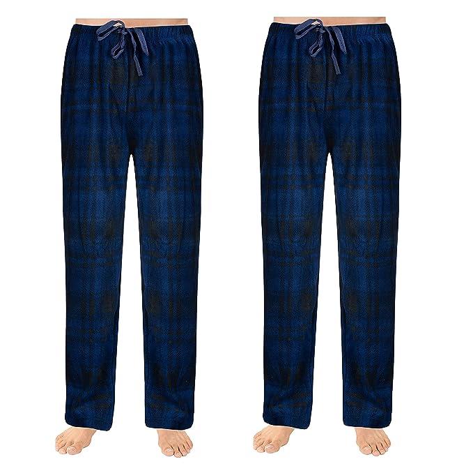 73dde8c284afc SOVA Men s 2-Pack Ultra Comfy Fit Micro Fleece Pajama Pants (2 pcs ...