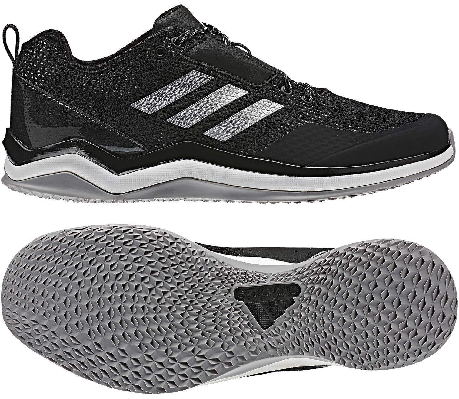 brand new 48702 e9dce Galleon - Adidas Men s Speed Trainer 3 Shoes, Black Metallic Silver White,  9 M US